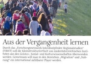 Universum Magazin berichtet über Forschung in Niederösterreich