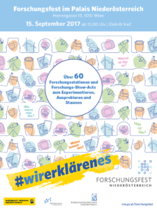 first-Forschungsverbünde beteiligen sich am Niederösterreichischen Forschungsfest