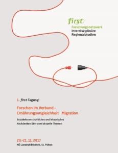 1. first-Tagung: Forschen im Verbund – Ernährungsungleichheit | Migration