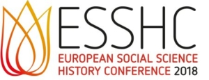 "first auf der ""European Social Science History Conference"" in Belfast vertreten"