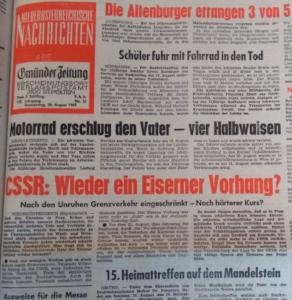 Einer neuen Zukunft entgegen – TschechoslowakInnen in Österreich um 1968/69