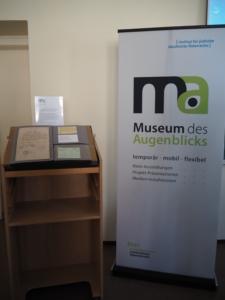 Museum des Augenblicks bei der Abschlusstagung des Forschungsverbundes Nahrung und Ungleichheit